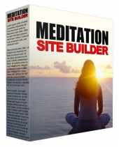 Meditation Video Site Builder Private Label Rights