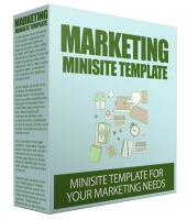 Marketing Site Template V50 Private Label Rights