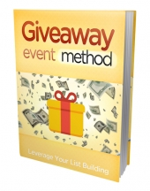 Giveaway Event Method Private Label Rights