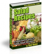 Salad Recipes Private Label Rights