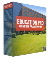 Education Pro Genesis Framework WordPress Theme Private Label Rights