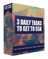 3 Daily Tasks to Get to $5K Private Label Rights
