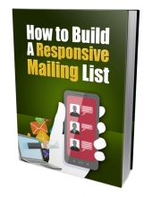 Build A Responsive Mailing List Private Label Rights