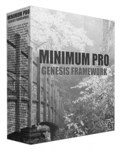 Minimum Pro Genesis Framework WordPress Theme Private Label Rights