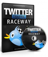 Twitter Traffic Raceway Video Upgrade Private Label Rights