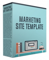 Marketing Site Template February 2017 Edition Private Label Rights