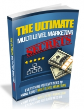 Ultimate Multi Level Marketing Secrets Private Label Rights