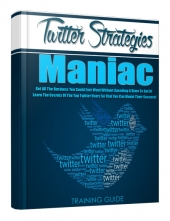 Twitter Strategies Maniac Private Label Rights