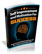 Self Improvement and Motivation for Success Private Label Rights