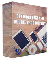 Get More Rest and Double Productivity Private Label Rights