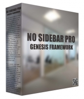 No Sidebar Pro Genesis Framework WordPress Theme Private Label Rights