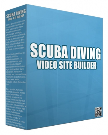 Scuba Diving Video Site Builder