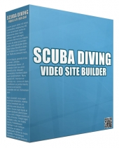 Scuba Diving Video Site Builder Private Label Rights