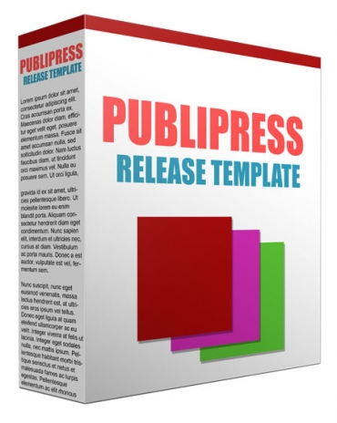 Publicity and Press Release Template Guide