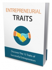 Entrepreneurial Traits Private Label Rights