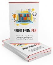 Profit From PLR Private Label Rights
