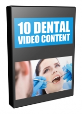 10 Dental Video Content Private Label Rights