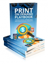 Print On Demand Playbook Private Label Rights