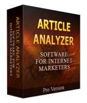 Article Analyzer Private Label Rights