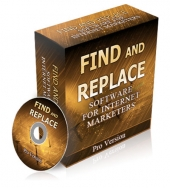Find and Replace PLR Software Private Label Rights