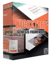 Kickstart Genesis Framework WP Theme Private Label Rights