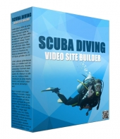 Scuba Diving Video Site Builder Software Private Label Rights