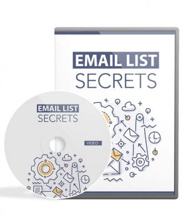 Email List Secrets Video Tutorial