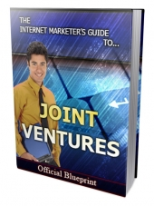 Internet Marketers Joint Ventures Guide Private Label Rights