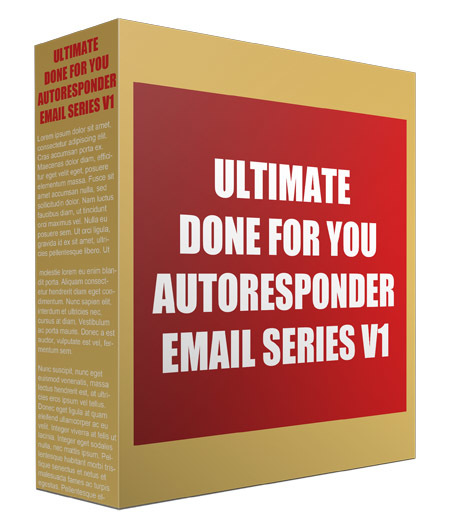 Ultimate Done For You Autoresponder Email Series V1