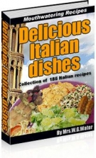 Delicious Italian Dishes Private Label Rights