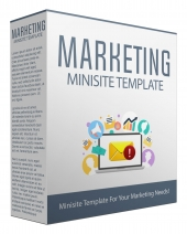 Marketing Minisite Template V53 Private Label Rights
