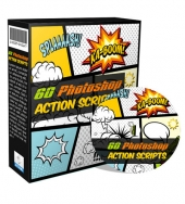 60 Photoshop Action Scripts Private Label Rights