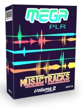Mega PLR Music Tracks V2 Private Label Rights