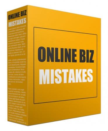 Online Biz Mistakes