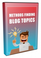 Methods for Finding Blogging Ideas Private Label Rights