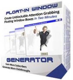 Float-In Window Generator