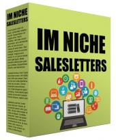 IM Niche Salesletter Swipes Private Label Rights