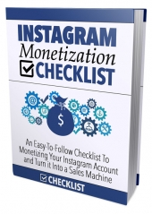 Instagram Monetization Checklist Private Label Rights