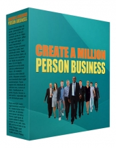 Create a Million Person Business Private Label Rights