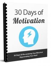 The 30 Days Of Motivation Private Label Rights