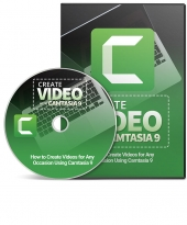 Create Video with Camtasia 9 Private Label Rights