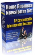 Home Business Newsletter Set Private Label Rights
