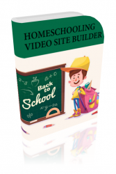 Home Schooling Video Site Builder Private Label Rights