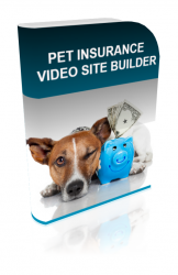 Pet Insurance Video Site Builder Private Label Rights