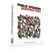 Public Speaking Graphics Pack Private Label Rights