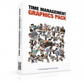 Time Management Graphics Pack Private Label Rights