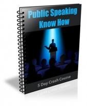 Public Speaking Know How Private Label Rights