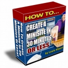 How To Create A Minisite In 30 Minutes Or Less Private Label Rights