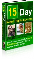 15 Day Resell Rights Success Private Label Rights
