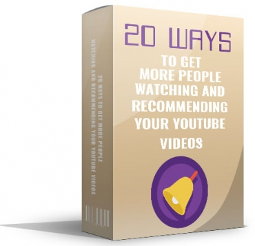20 Ways To Get More People Watching
